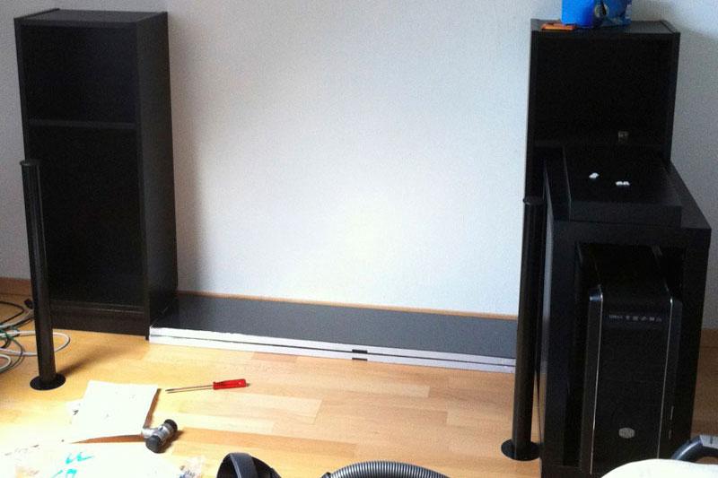 ikea music production desk. Black Bedroom Furniture Sets. Home Design Ideas
